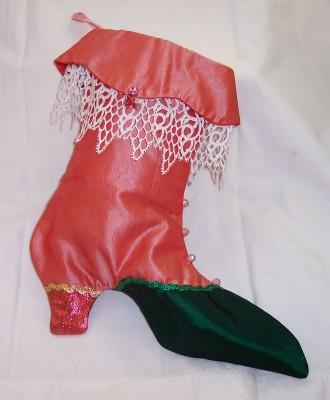 Victorian Christmas Stockings.Victorian Christmas Stocking Ferniisa New Orleans Lyn Carroll