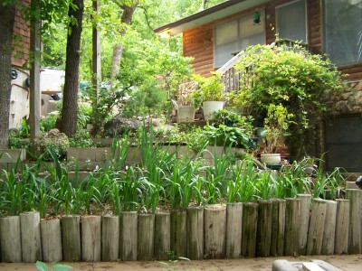 Terrace Garden Project, Recycle materials