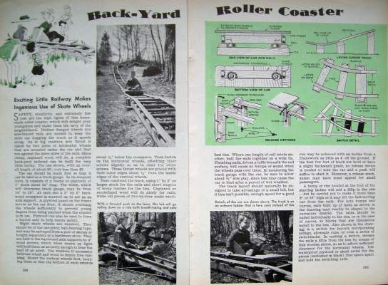 Backyard Roller Coaster Plans : Check out our ebay store for additional diy articles Each additional