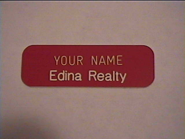 Engraved Employee Personalized Name Tag Badge 1x3 Pin Or Magnet Ebay